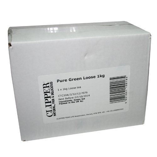 Clipper Pure Green Loose Leaf Tea 1 Kg