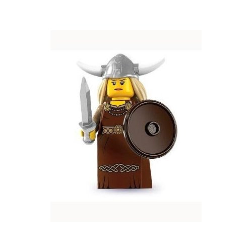 412r%2BP2oXAL Buy  Lego Series 7 Viking Woman Mini Figure