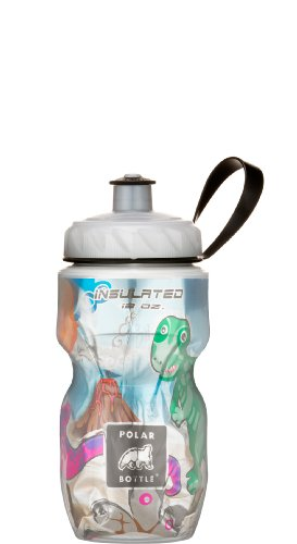 Polar Insulated Water Bottle (12-Ounce Kids, Dino Might)