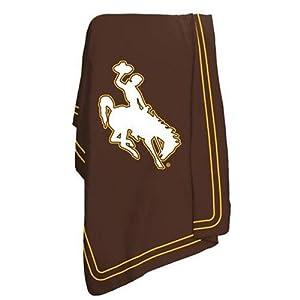 Wyoming Cowboys NCAA Classic Fleece Blanket by Logo Chair