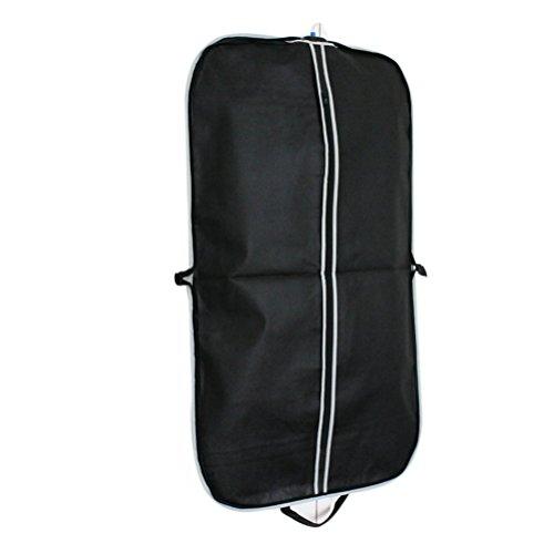 LEORX-3pcs-Porta-Trajes-Traje-ropa-ropa-cubre-bolso-negro