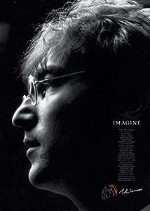 Imagine John Lennon Lyrics Music Poster