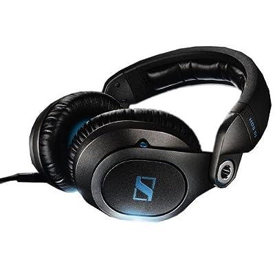 "Sennheiser HD8 DJ Closed Pro Headphones for DJ Applications, 95 Ohms, 8Hz-30 kHz Frequency Response, 3.5mm Plug with 1/4"" Adapter by Sennheiser"