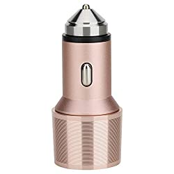 ROCK,Car charger with hammer,Car Charger,RCC0105-95667,Rose Gold