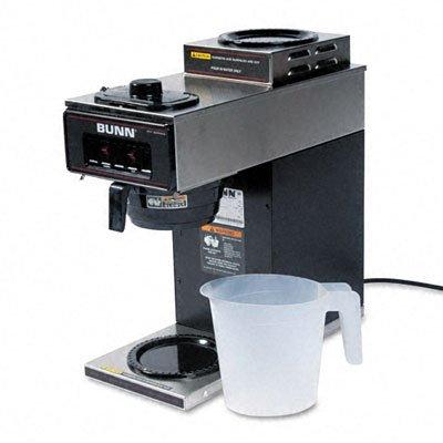 Bunn Coffee Maker Vpr : Bunn-O-Matic Pour-O-Matic Model VPR Coffee Brewer, Stainless Steel/Black - discount4