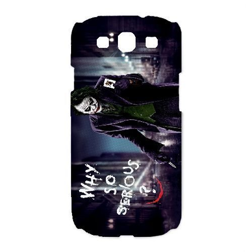 Personalized Durable Cases Samsung Galaxy S3 I9300 White Phone Case Leryb Joker Heath Ledger Protection Cover