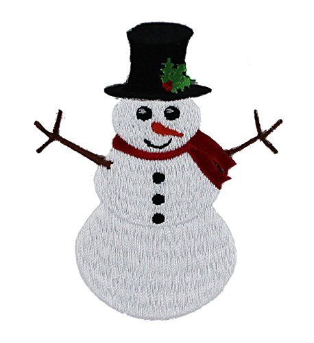 Application Holiday Snowman Patch - 1