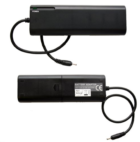 Externes Batteriefach, Batterieladegerät, Notlader für Garmin iQue 3600 & 3200 Batteriepack RUNDKABEL