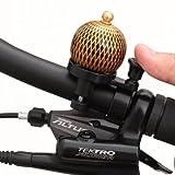 自転車の鐘 - 屋外乗馬やマウンテンサイクリングミニハンドルリングベル銅かわいいヴィンテージの鐘のためのヴィンテージ自転車ベル