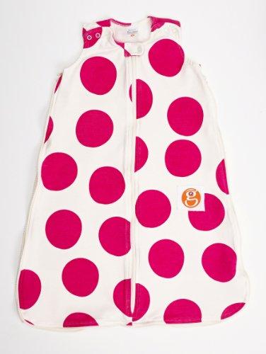 Gunamuna Gunapod Wearable Blanket Natural Collection, Petunia Pink/Cocoon, Small front-30794