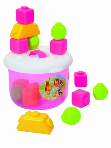 Cotoons Happy Blocks, Pink - 1