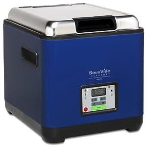 SousVide Supreme Cobalt Blue Demi Water Oven Electric Vacuum Cooker