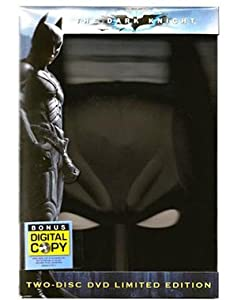 Batman The Dark Knight Special Edition Batman Mask Packaging 2 Dvds at Gotham City Store