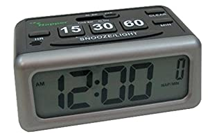 Napper Alarm Clock - Set your Own Nap Time! LCD Screen Display