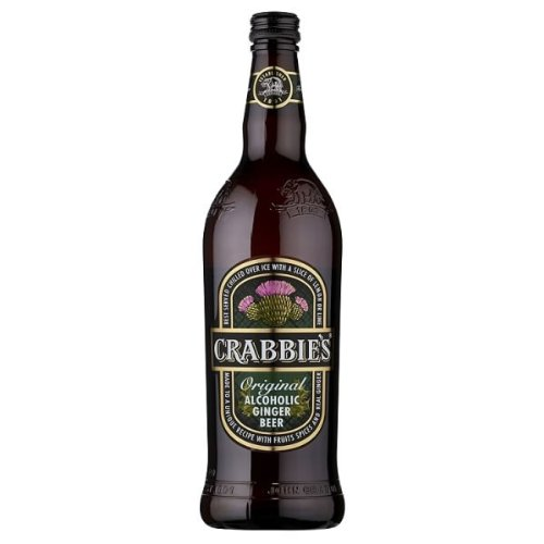 Crabbies Alcoholic Ginger Beer (8 x 500ml)