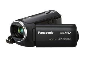 Panasonic HC-V210EG-K Camcorder (MOS-Sensor, 10 Megapixel Foto Auflösung , Full HD, 38-fach opt. Zoom, 72-fach int. Zoom, USB 2.0) schwarz