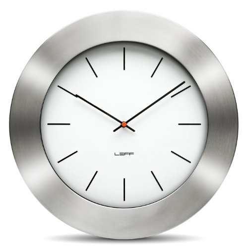 Bold35 Wall Clock Color: White