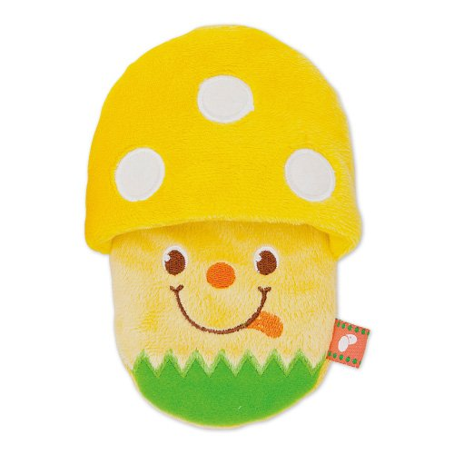 Pee Pee TOY  きのこスリッパ 【イエロー】(4738)
