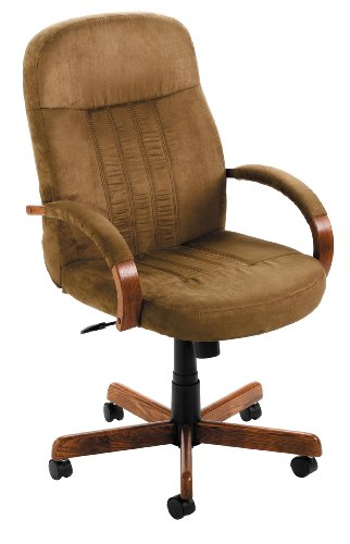 Boss Microfiber Executive Chair, Cappacino