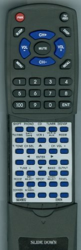Denon Replacement Remote Control For Rc832, 3990458002, Avr1400, Avr2400, Avr1420