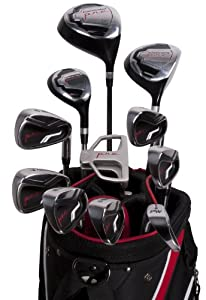 Pinemeadow 11296 Pre Complete Golf Set, 16-Piece