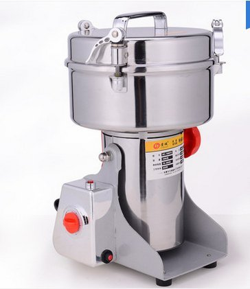 Swing Type Large-scale 700g Stainless Steel Grains Food Mill Major Grinding Machine Grinder Food Pulverizer 110V for USA user, 220v for others (Chinese Medicine Grinder compare prices)