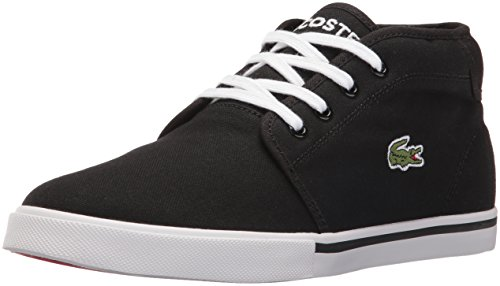 Lacoste Men's Ampthill Lcr2 Spm Fashion Sneaker Fashion Sneaker, Black/black, 9 M US