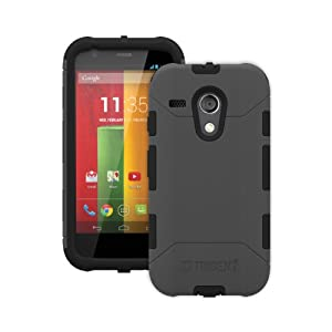 Trident Case Aegis Series Case for Motorola Moto G - Retail Packaging - Grey