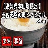 【27年産】【特別栽培米】土佐天空の郷ヒノヒカリ 5kg 【玄米、7分搗き・5分搗き・3分搗きから選択可】