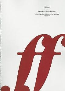 Js Bach Sonatas Bwv 1027-29 Viola Da Gamba Cioloncello And Obbligato Harpsichord from Faber & Faber