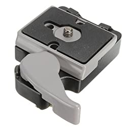 323 Quick Release Clamp Adapter With 200PL-14 QR For Manfrotto Camera Tripod -