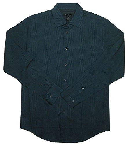 Van-Heusen-Mens-Classic-Fit-Sateen-Button-Down-Shirt-Turquoise-Blue-S-14-145