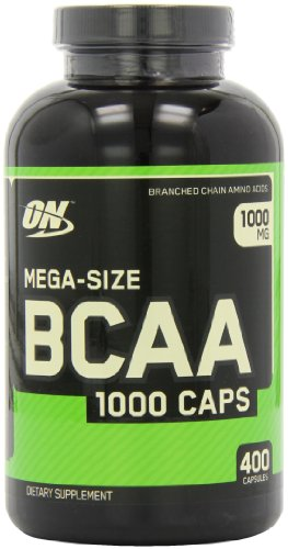 Optimum Nutrition BCAA Capsules, 400-Count