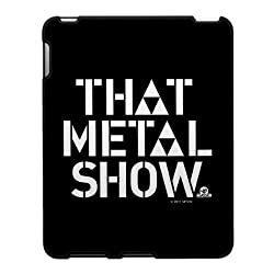 That Metal Show: Logo iPad® Case - Black