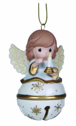 Precious Moments Angel Jingle Bell Ornament