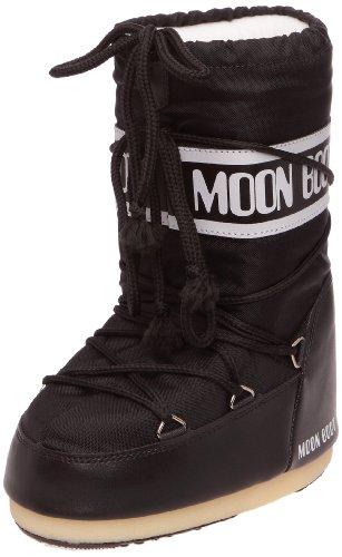 Moon Boot, Tecnica Nylon, Stivali, Unisex, Nero (Nero 001), 42-44