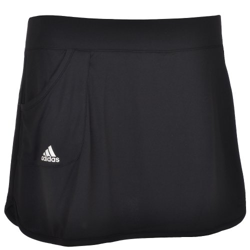 Adidas Response Womens Tennis Skort Skirt - Black