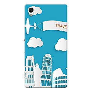 Mobile Back Cover For Sony Xperia Z1 (Printed Designer Case)