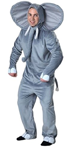 Ace Halloween Unisex Adult Deluxe Funny Animal Elephant Costumes