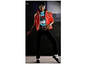 1/6 Scale M Icon 'Beat It' Michael Jackson 10th Anniversary Exclusive Figure