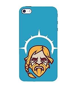 EPICCASE Jesus the saviour Mobile Back Case Cover For Apple iPhone 5s (Designer Case)