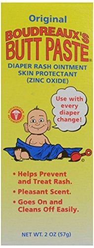 Boudreaux'S Butt Paste Diaper Rash Ointment, Zinc Oxide, 2 Oz front-60742