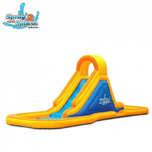 Blast Zone Spray-n-Splash 2 Inflatable Water Park