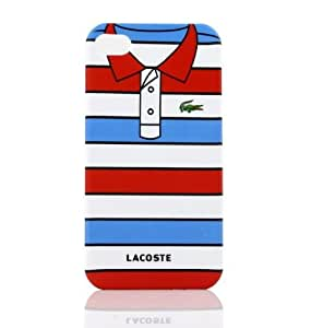 Amazon.com: Lacoste T SHIRT Case for Iphone 4 + 1 SCREEN PROTECTOR