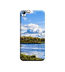 TransMute Premium Printed Back Case Cover With Full protection For HTC 820 (Designer Case)