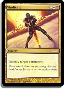 Magic: the Gathering - Vindicate - Foil DCI Judge Promo (2007) - Judge Promos - Foil