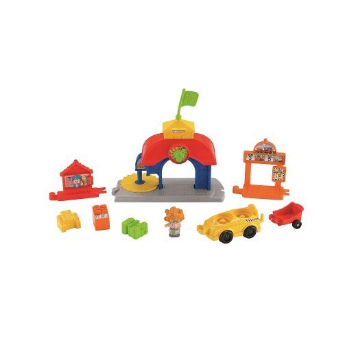 Fisher-Price Little People Load and Go Train Station