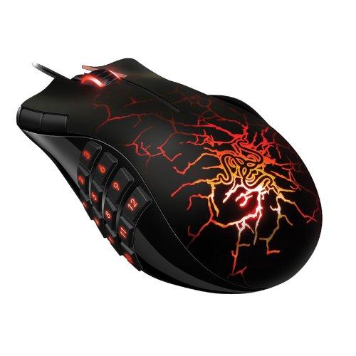 Razer Naga MMO Molten Special Addition 5600DPI Gaming Mouse