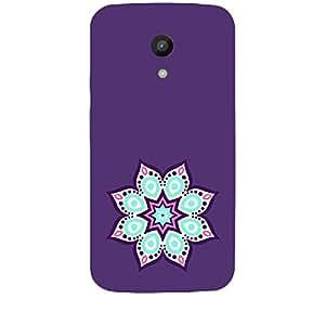Skin4gadgets Artistically Drawn Mandala Tattoo In Pastel Colors -Purple, No.19 Phone Skin for MOTO G 2ND G