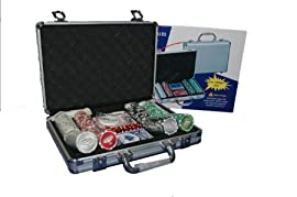 Royal Flush Poker Set w 200 11.5g chips